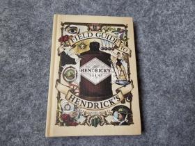 万叶堂英文原版 field guide to hendrick's gins 亨德里克杜松子酒的现场指南