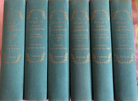 The Complete Memoirs of Casanova  卡萨诺瓦回忆录全6j卷 (首次未删节本英译本)    布面精装  书脊烫金    版画插图    品相极佳 护封完好