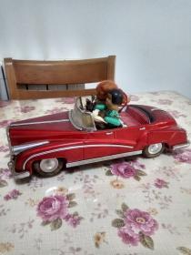 老鐵皮玩具 新聞采訪車