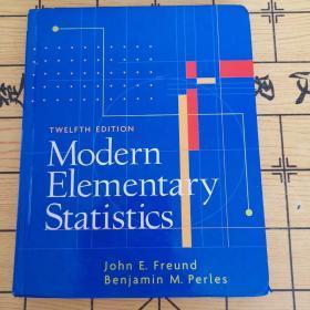 Modern Elementary Statistics(附光盘)
