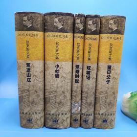 狄更斯文集:《荒凉山庄》《小杜丽》《董贝父子》《艰难时世》《双城记》5册合售 均为一版一印