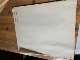 5125D:老的空白细格子纸一刀