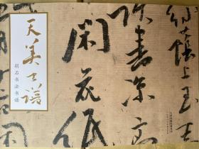 天美书谱:胡石书法书谱