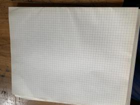 5127A:老的空白细格子纸40张