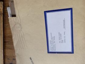 5128:61-62年   普林斯顿大学帕尔默物理实验室 詹姆斯W 克罗宁  寄给PETER  HUANG 的一些机器 电离子照片17张及信件图纸  3个信封