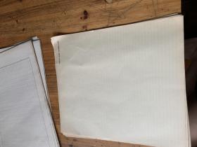 5126B:老的横格纸 <TSUFONG HUANG ,WORKING PAPER>50张