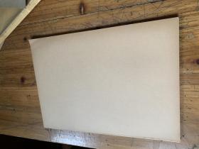 5127B:老的空白横竖格纸一刀