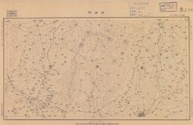 民国二十年(1931年)《茂名县老地图》图题为《茂名县》(原图高清复制),(茂名老地图、茂名县地图、茂名地图、茂名市老地图、图中包含化县,化县老地图、化县地图、化州老地图、化州市老地图、化州地图)民国军用图,参谋本部陆地测量总局测绘,全图年代准确,十万分之一比例尺,村庄、道路、寺庙、河流等绘制详细。此图种非常稀少。茂名、化州地理地名历史变迁重要史料。裱框后,风貌佳。