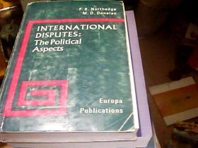 inter national disputes:the political aspects国际米兰国家争端:政治方面