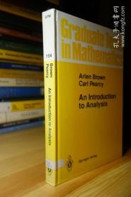 An Introduction to Analysis (Graduate Texts in Mathematics GTM 154 )