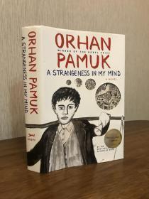 Pamuk 奥尔罕•帕慕克签名初版 <我脑袋里的怪东西> 诺贝尔奖得主 A Strangeness in My Mind