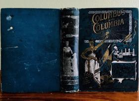 1892年《插图美国史》4卷合一。