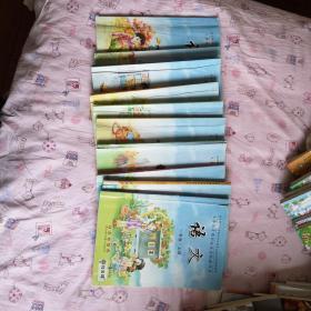 小学语文长春版1-5年级,共十册