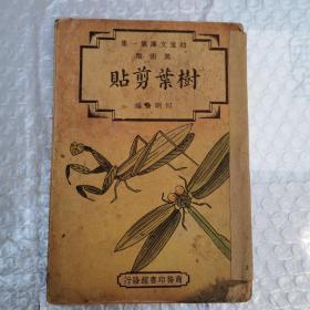 幼童文库第一集,美术类.树叶剪贴,民国二十四年初版