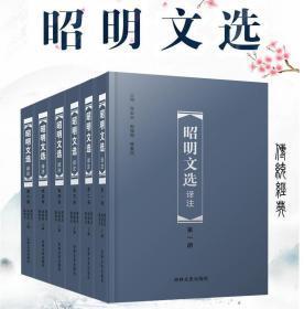 昭明文选译注 全六册