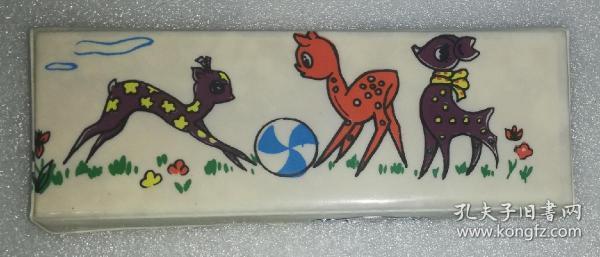 三只小鹿胶皮盒(上海塑料包装厂)