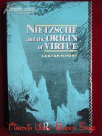 Nietzsche and the Origin of Virtue(英语原版 精装本)尼采和美德的起源