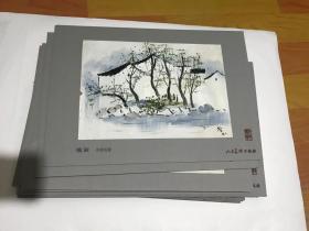 十六幅江南水乡风情油画