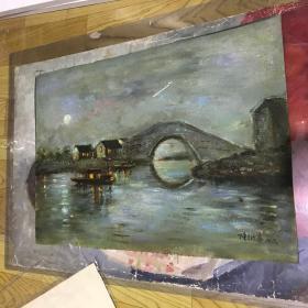 陈衍宁两幅油画
