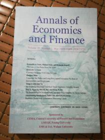 Annals of Economics and Finance