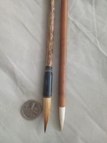 八十年代老毛筆(純狼毫白雞毫)——特價不議