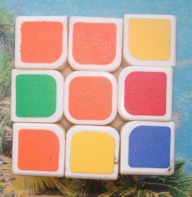 塑膠玩具: 三階魔方
