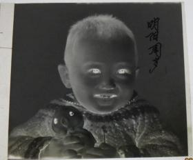 【老底片】(44630)拿玩具的男孩