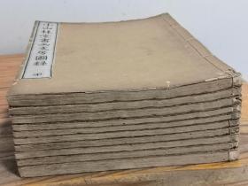 1854年《小山林堂书画文房图录》10册全