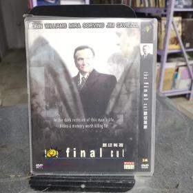 最终剪接  DVD 未拆封  光盘碟片   (个人收藏品) 外国电影