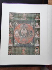 国内现货 密教曼荼罗  图集 68张曼陀罗   限定488部  定价75万日元  单张出售  64  欢喜天曼陀罗图