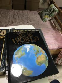 1999年最新版     The Times Atlas of The World泰晤士世界地图集  大16开精装  142页
