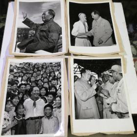 毛主席 老照片 18张合售