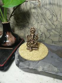 十九世纪藏传老佛像一尊
