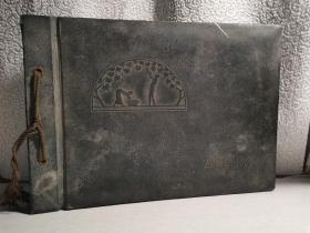 侵华史料 旧日本军 家庭照片一册 二十六张  包老保真