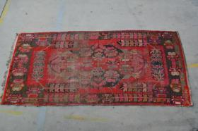 新疆民族手工老地毯【长3.05米宽1.45米】