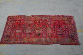 新疆民族手工老地毯【长3米宽1.40米】
