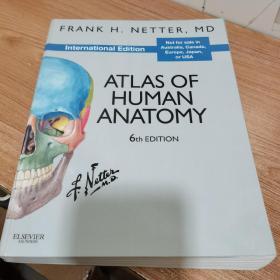 Atlas of Human Anatomy, International Edition人体解剖学图谱,国际版,第六版 英文原版