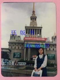 彩色照片,美女,上海展览中心,7张,合售