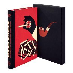 预售福尔摩斯探案集FS豪华版The Selected Adventures and Memoirs of Sherlock Holmes folio deluxe