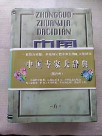 中国专家大辞典.6