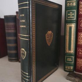 Bacon Milton Browne Harvard Classics 培根 弥尔顿 布朗尼 文集 哈佛经典系列