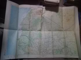 毛里塔尼亚 马里   西撒哈拉    地图