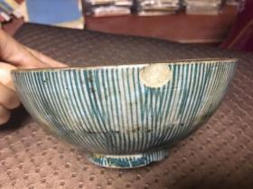 玉屋款民国时期日本碗 高6.5cm口部直径14.5cm