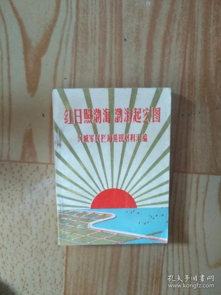 红日照勃海文革书64开
