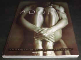 2手英文 Adonis: Masterpieces of Erotic Male Photography 男人 scb30