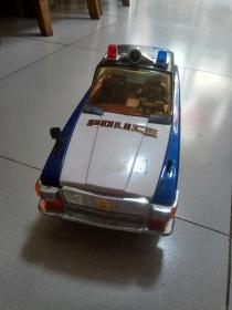 老鐵皮玩具 大警車