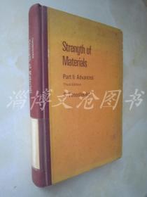 Strength of Materials Part 1 .2 Advanced  Third Edition【16开精装 英文版】(材料强度第1.2部分第三版)【2本合售】【见描述】