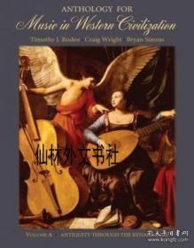 【包郵】 Anthology For Music In Western Civilization, Volume A