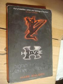 H.I.V.E.: Higher Institute of Villainous Education 英文原版 书口三面刷橙