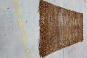 新疆民族手工老地毯【长3.10米宽1.55米】